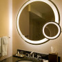 Eternity Lighted Mirror and makeup mirror at the Shelburne New York