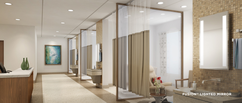 Electric-Mirror-healthcare-projects-Integrity-Lighted-Mirror-Fusion-Lighted-Mirrors