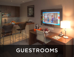 Electric Mirror hospitality market Guestrooms