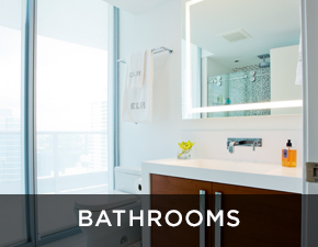 Electric Mirror residential projects Bathrooms