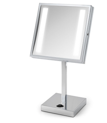 Chenille Counter Top Makeup Mirror rendering