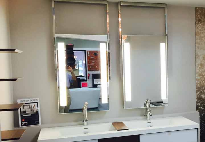 Element Lighted Mirrors at ESO Decorative Plumbing