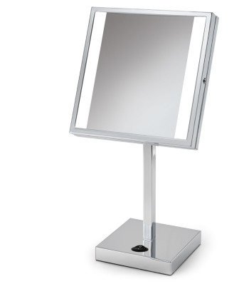 Glow Counter Top Makeup Mirror rendering
