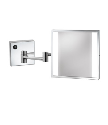 Glow Wall Mount Makeup Mirror rendering