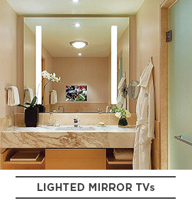 Lighted Mirror TVs