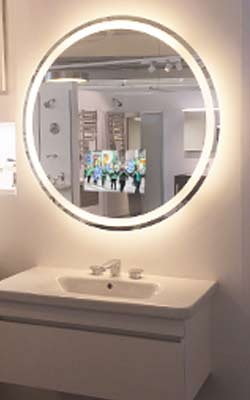 Eternity-Lighted-Mirror-tv-at-Cantu-bathrooms-hardware