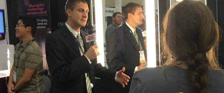 Residential Inside Sales Manager Travis Boyd at CEDIA 2015
