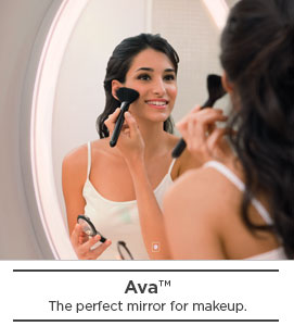 Ava - the perfect mirror for makeup - color changing mirror