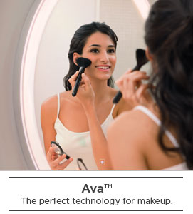 Ava, the perfect mirror technology for makeup application