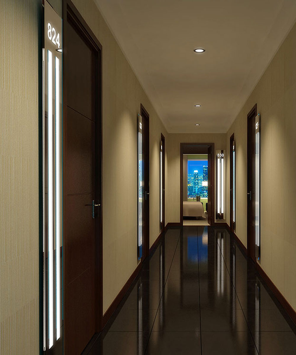 Corridor lighting for Armoire couloir design
