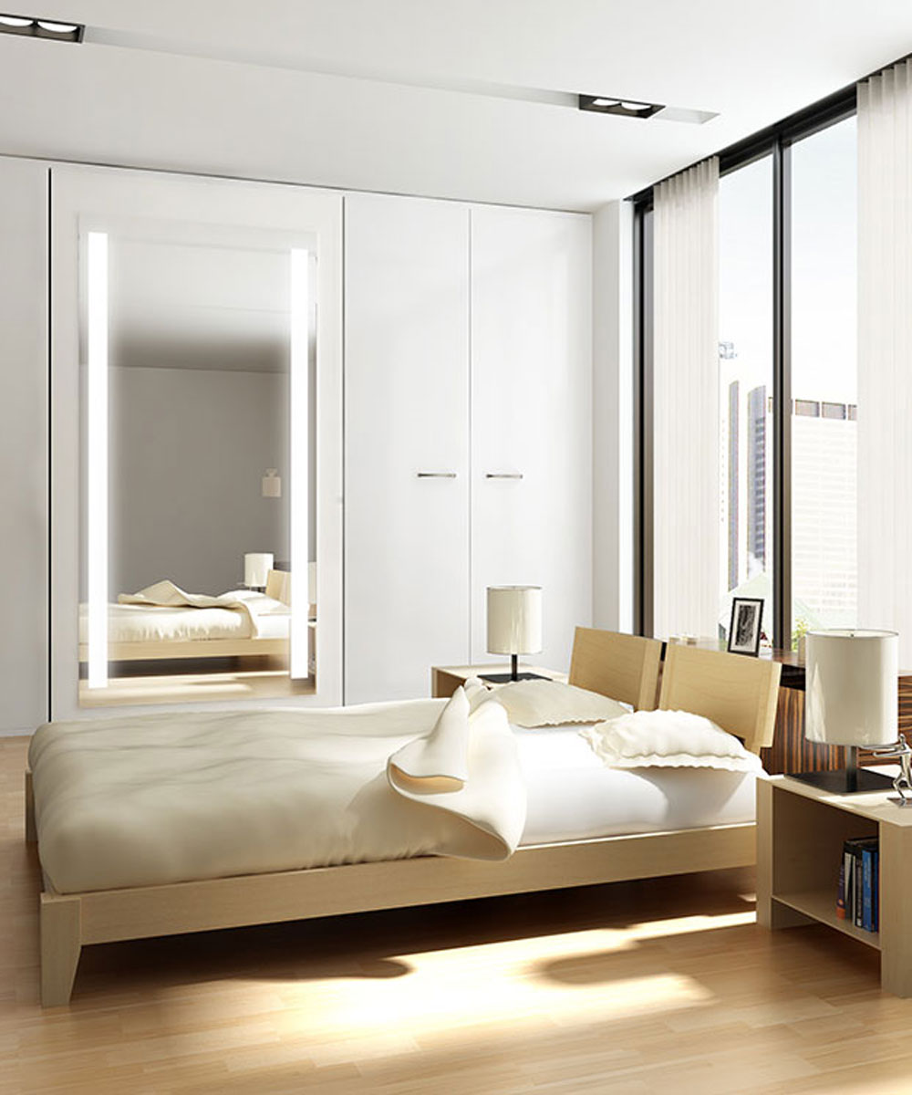 Fusion Wardrobe Mirror in Bedroom