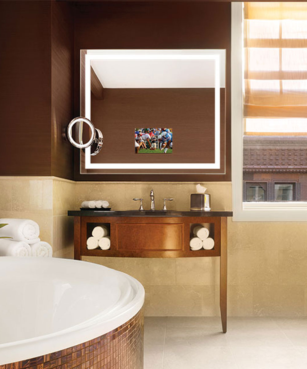 Superior Integrity Lighted Mirror TV At The JW Marriott Chicago