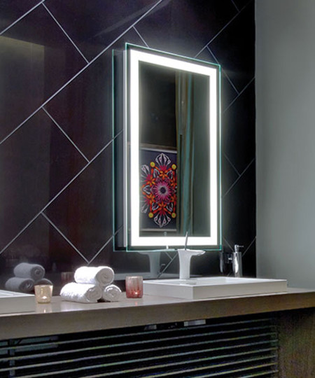 Integrity Lighted Mirror at the O Spa in Las Vegas
