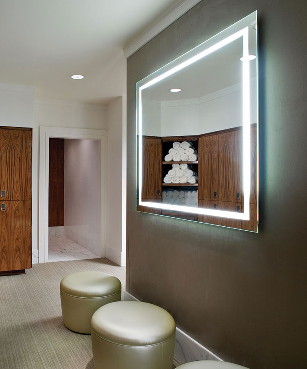 Integrity Led Lighted Bathroom Mirror By Electric Mirror 174