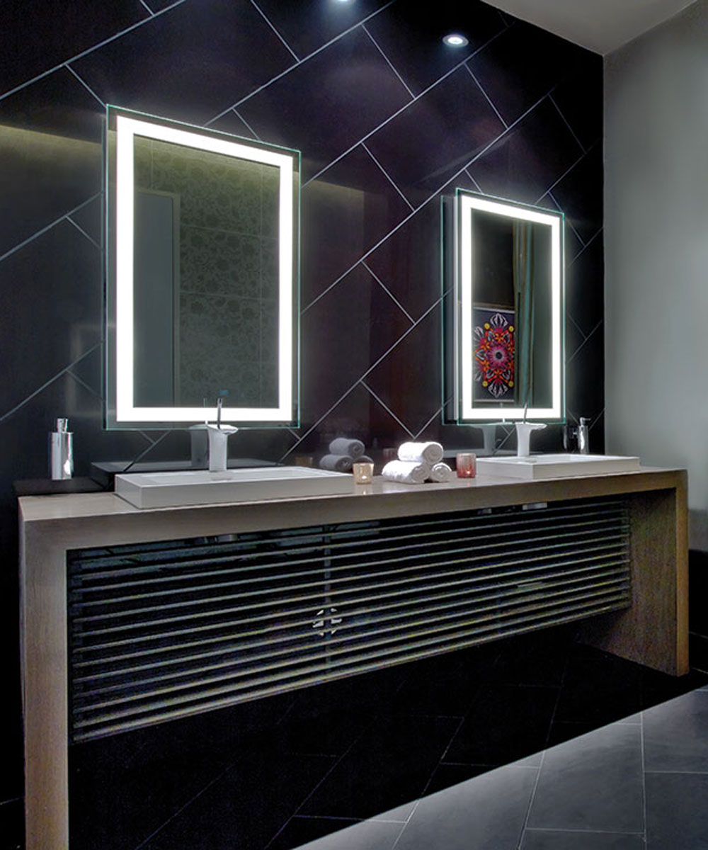 Integrity Lighted Mirrors at the O Spa in Las Vegas