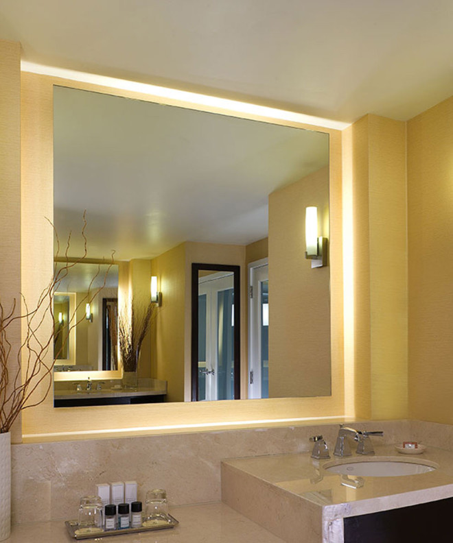 Serenity Lighted Mirror at the Agua Caliente Casino Resort Spa in Rancho Mirage large