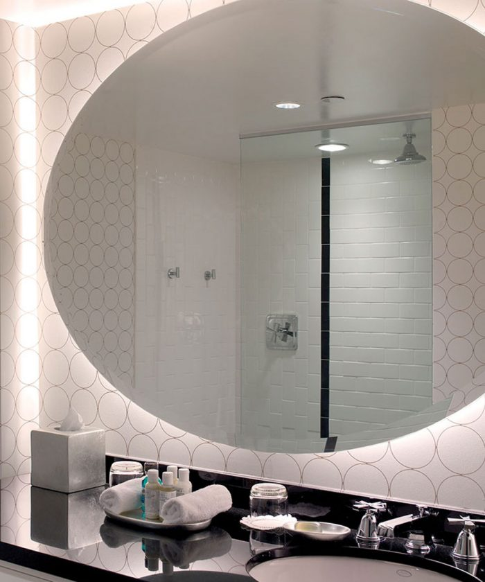 Serenity Lighted Mirrors at the Chelsea in Las Vegas