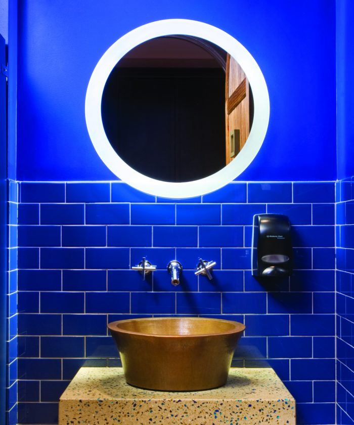 Trinity Lighted Mirror at Gabriela's Mexican in New York City