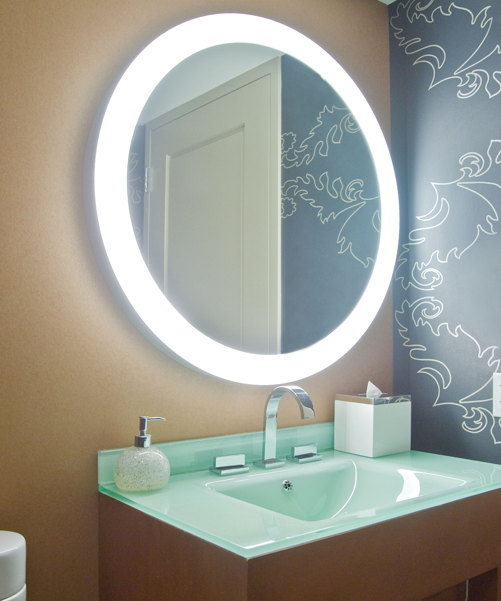 Electric bathroom mirrors - Trinity Mirror At The Grand Hyatt Tampa Bay