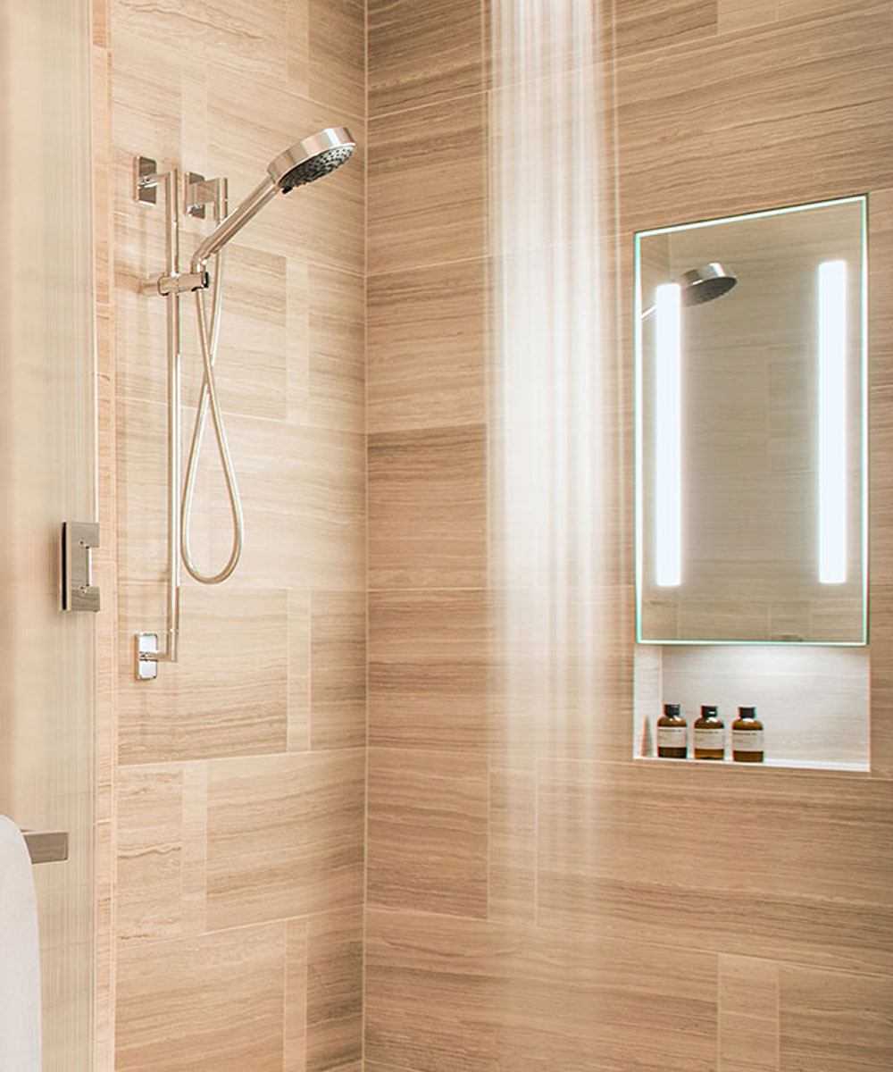 Safety Mirrors For Bathrooms: In-Shower Fog Free Mirrors