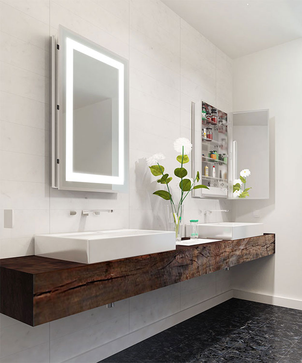 Ambiance™ Mirrored Cabinet | Electric Mirror®