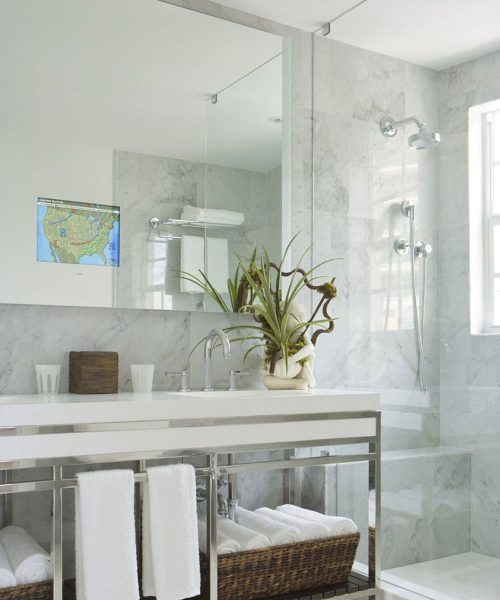 Loft-Bathroom-Mirror-TV-by-Electric-Mirror-at-the-Betsy-Miami-Beach-Florida