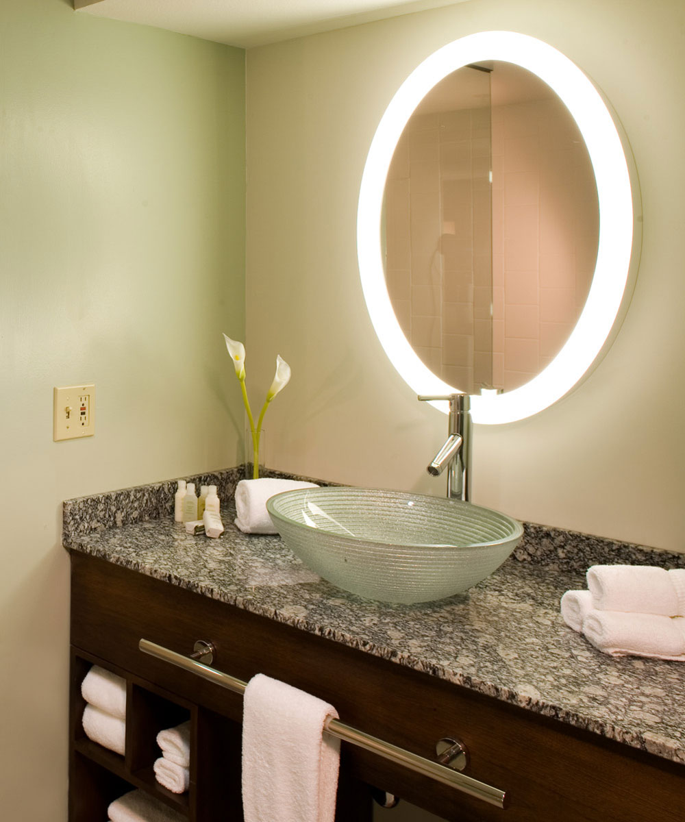 Trinity Lighted Mirror TV By Electric At
