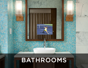 Electric Mirror commercial projects Bathrooms Applcations