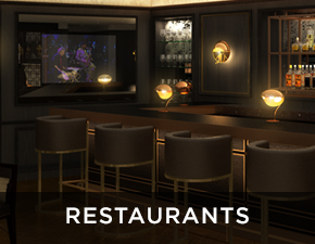 Electric Mirror commercial projects Restaurants Applications