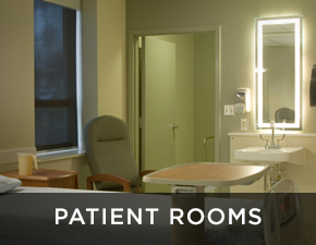 Electric Mirror healthcare projects Patient Rooms