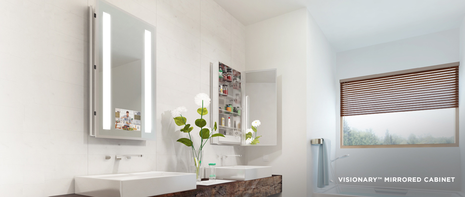 Electric Mirror residential projects Visionary Medicine Cabinet