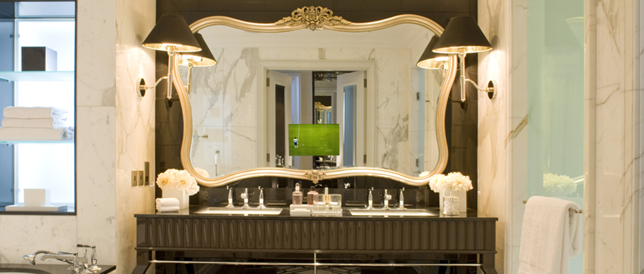Custom-Frame-and-shape-of-Mirror-TV-at-the-Four-Seasons-Baku