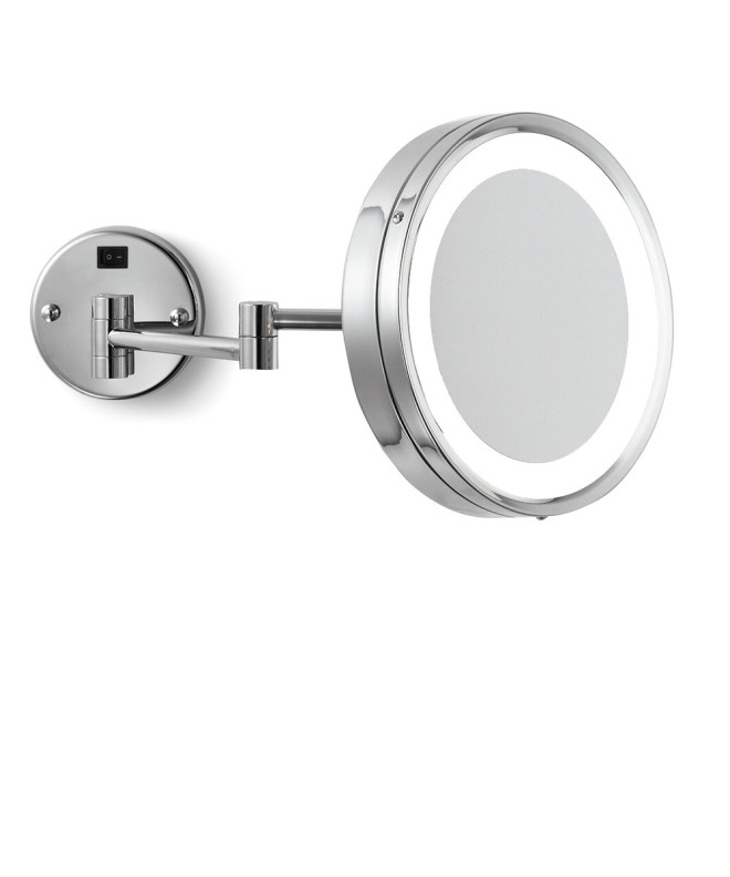 Blush Wall Mount Makeup Mirror rendering