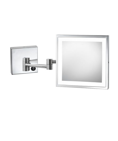 Elixir Wall Mount Makeup Mirror rendering bottom switch