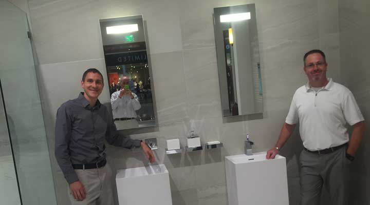 Travis and TJ Mullally at Pirch
