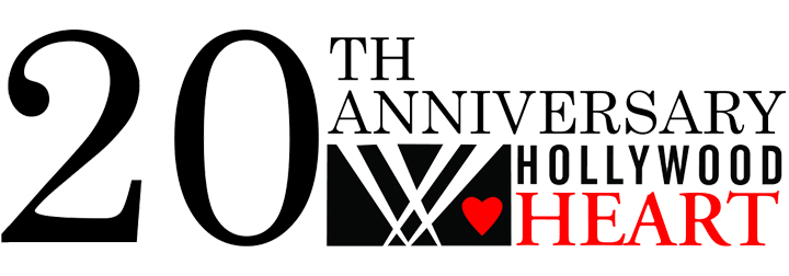 Hollywood Heart 20th Anniversary Celebration logo