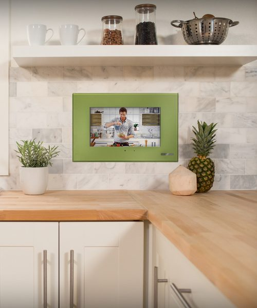 Kitchen TV Lush Green Faceplate