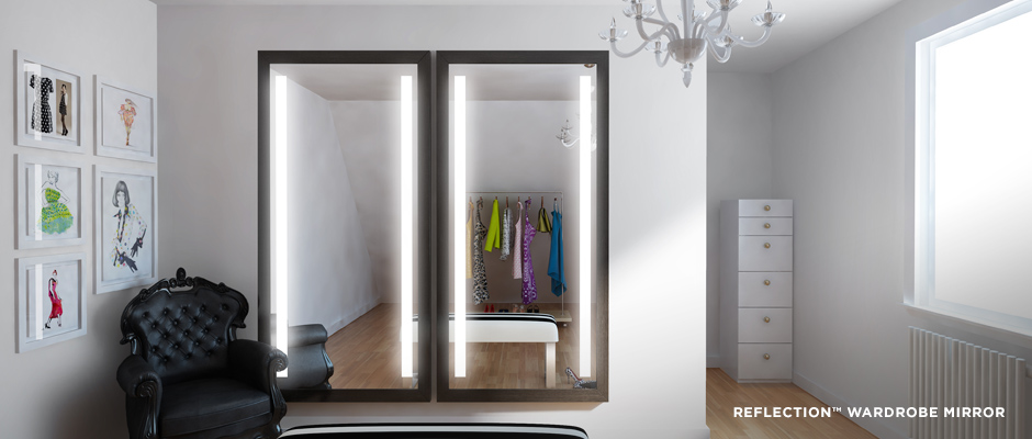 Electric Mirror residential projects Reflection Wardrobe Mirror
