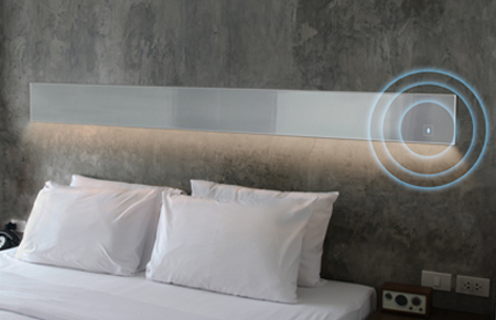 Sage-Voice controlled mirror technology