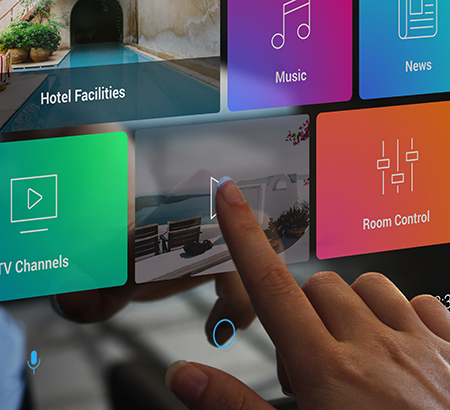 Savvy Smart Mirror with touch screen for easy access to apps