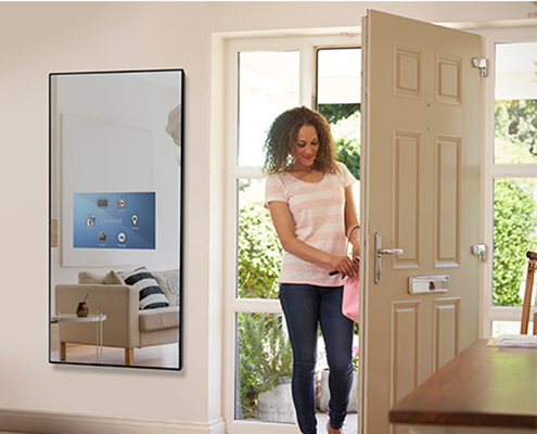 Savvy Smart Mirror for your entry way
