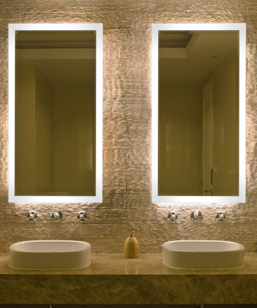 Astonishing Led Lighted Bathroom Mirrors Smart Mirrors Tv Mirrors Download Free Architecture Designs Sospemadebymaigaardcom
