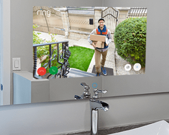 Savvy Smart Mirror with home security app