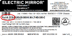 Installation Instructions for Electric Mirror Products on