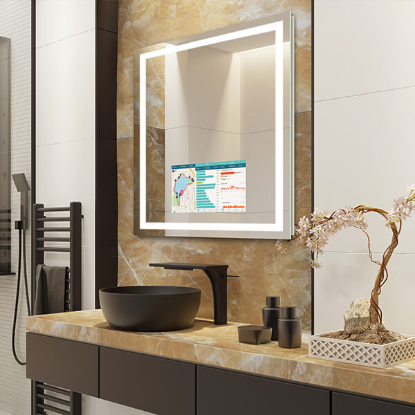 Savvy Integrity Smartmirror with app image