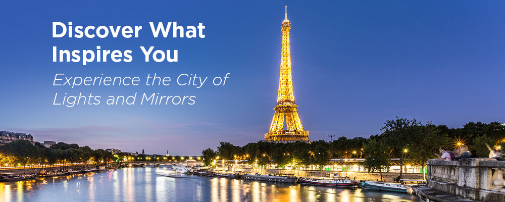 The Eiffel Tower -Get inspired by Paris with Electric Mirror's Sweepstakes