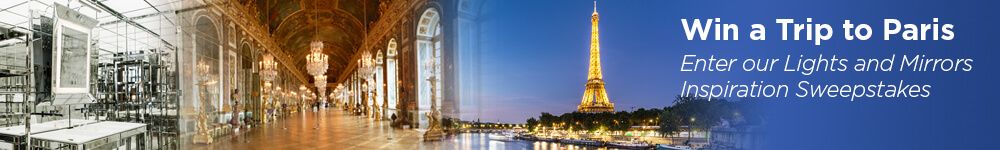 Enter to win a trip to Paris from Electric Mirror